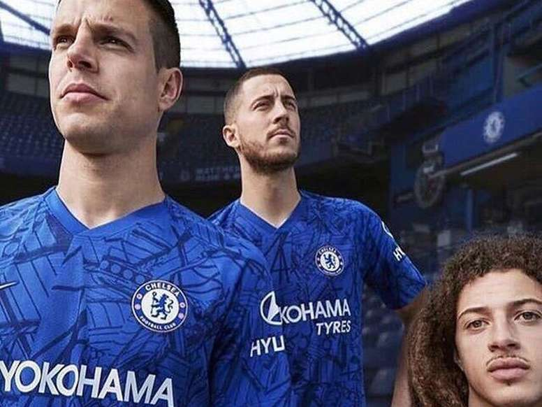 more photos 1943b 78427 Hazard promotes the 2019-20 Chelsea shirt - BeSoccer