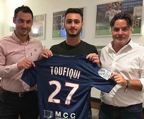 Toufiqui, novo jogador do Caen. EFE