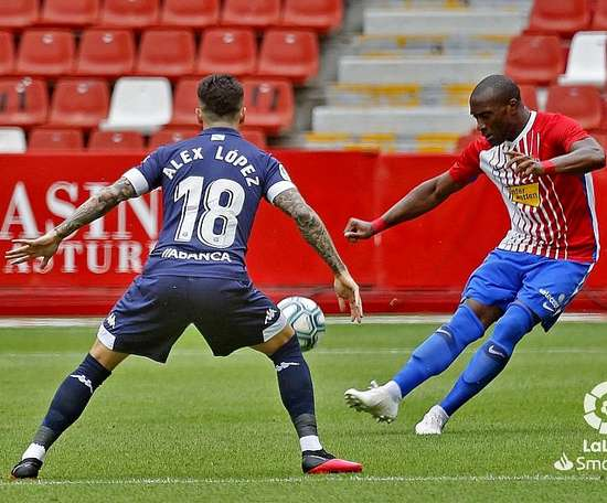 El Sporting le ganó al Lugo. LaLiga