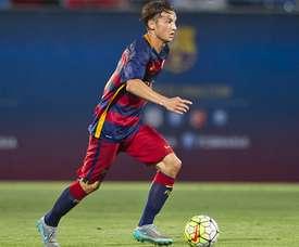 Babunski se ha tomado con filosofía su salida del filial del Barcelona. Twitter