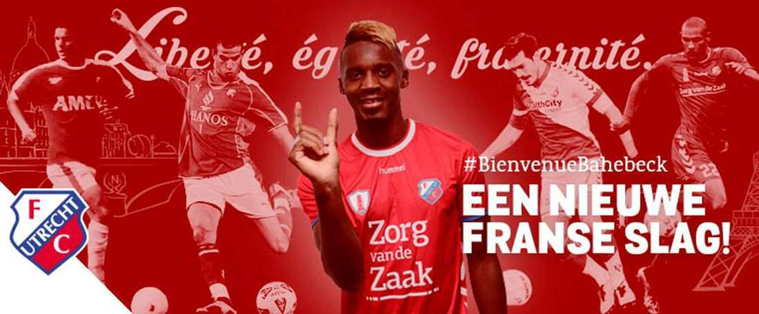 Utrecht appoint Bahebeck as their new player. FCUtrecht