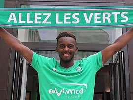 Bahebeck, Saint-Etienne new player. Twitter