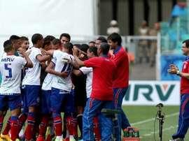 Bahia classificado para a semifinal da Copa do Nordeste. Twitter