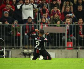 Manchester United se afasta de Jadon Sancho. Twitter/bayer04fussball
