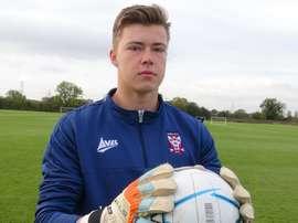 Le gardien est prêté pour la première fois. YorkCityFC