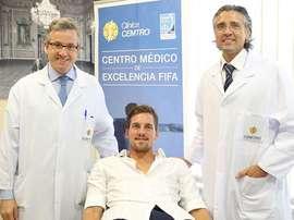 Balázs Megyeri pasa el reconocimiento médico para incorporarse al Getafe. Twitter