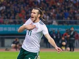 Bale se convirtió en el máximo goleador de la historia de Gales. FAW
