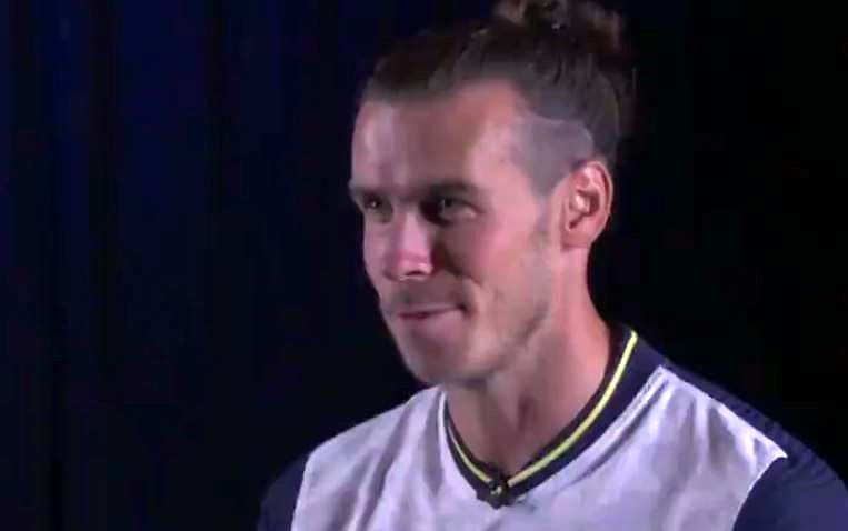 Bale ya habla como 'spur'. Captura/Tottenham