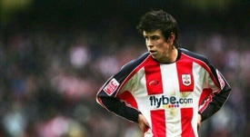 Bale made his Southampton debut at just 16 years old. Twitter