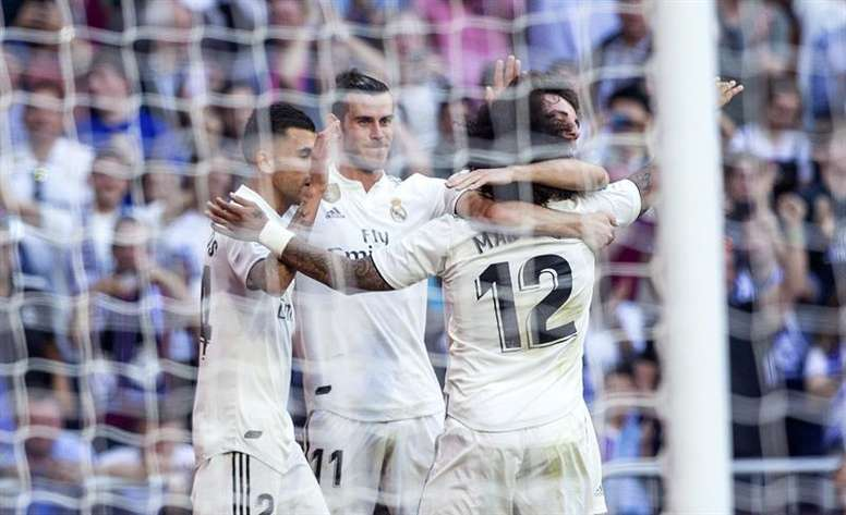 Just 12 goals between five attackers for Madrid this season. EFE