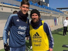 Balerdi, el admirador de Messi que enamora al Barça