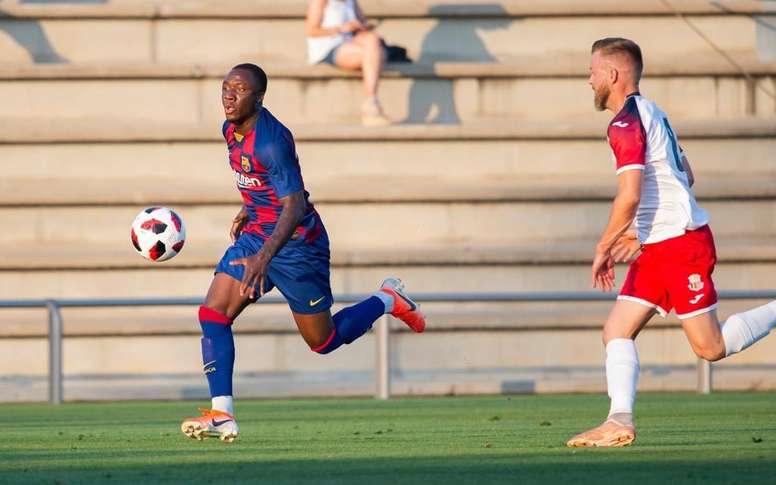 Ballou Tabla volverá de su aventura americana. FCBarcelona/Archivo