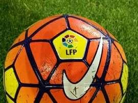 Balón de la Liga. Twitter