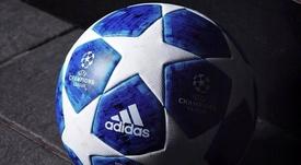 Ya conocemos el balón oficial de la Champions. Adidas
