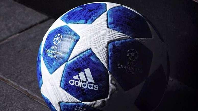 47dfe28abf6e2 Adidas presenta el balón oficial de la Champions 2018-19 - BeSoccer