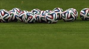 Morreu um goleiro no futebol georgiano. AFP