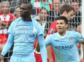 Balotelli, le Bad Boy de Manchester City. AFP