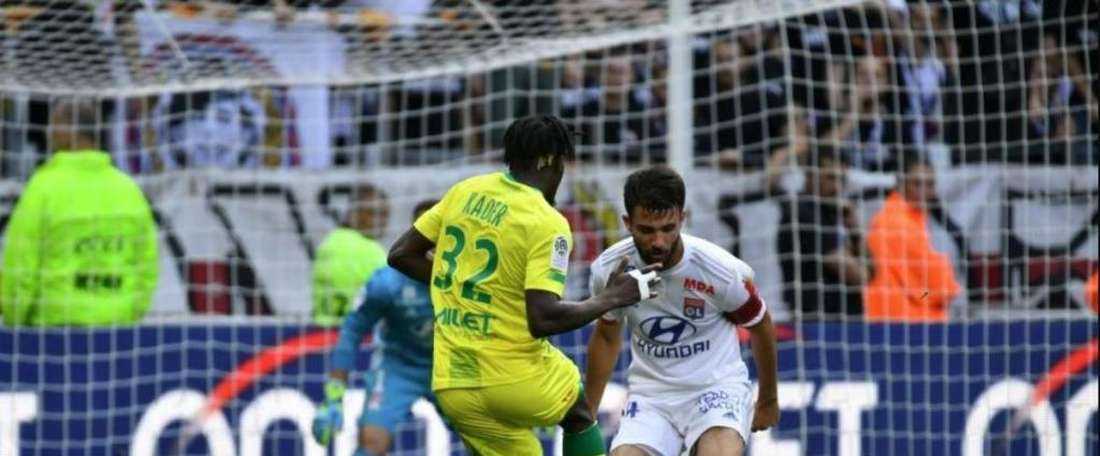 Marcal's own goal but Nantes back top of the table. Twitter/FCNantes