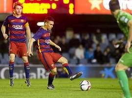 Barcelona B ante el Cornellà. Twitter