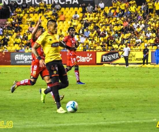 Barcelona de Guayaquil se clasificó para los cuartos de la Copa Ecuador. Twitter/BarcelonaSC