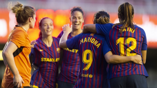 Barcelona Femeni comfortably cruised past UWCL opponents Glasgow City. FCBOFFICIAL