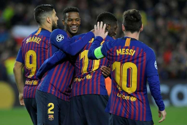 Les six candidats pour renforcer l'attaque du Barça. AFP