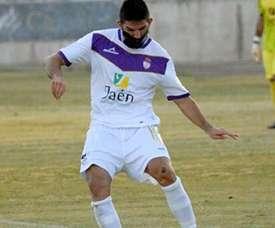 El jugador abandonó recientemente el Real Jaén. Jaén