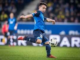 El Hoffenheim se llevó el encuentro ante su rival. Hoffenheim/Archivo