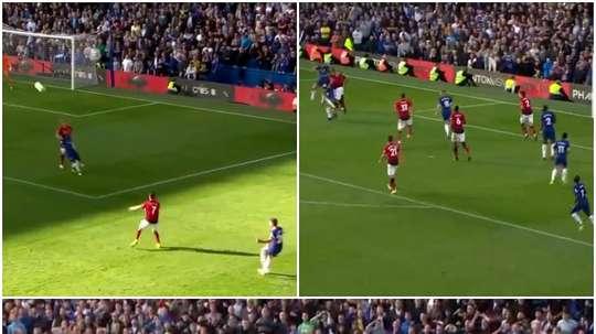 Barkley equalised late on against United. CAPTURA