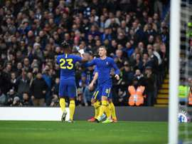 El Chelsea se impuso en un partido en el que el VAR desquició al Nottingham Forest. Twitter/Chelsea