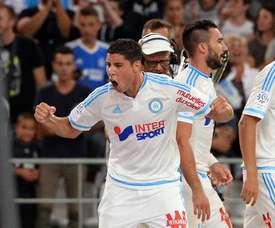 Barrada no tuvo mucho protagonismo en el pasado campeonato galo. OlympiqueMarseille