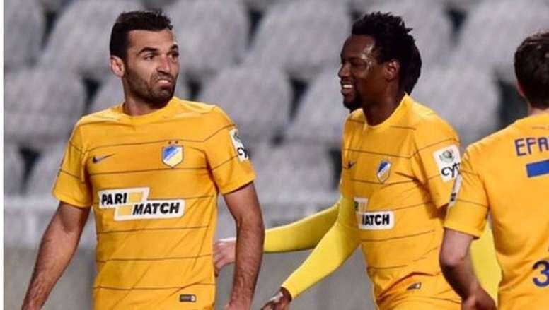 El APOEL comenzó perdiendo en el minuto 13. APOEL