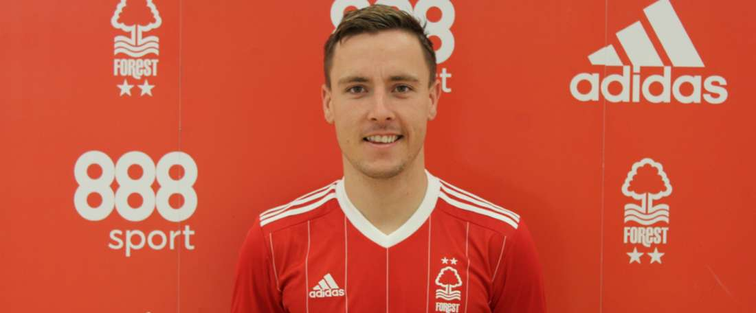McKay can play as either a winger or a striker. Twitter/Nottingham Forest