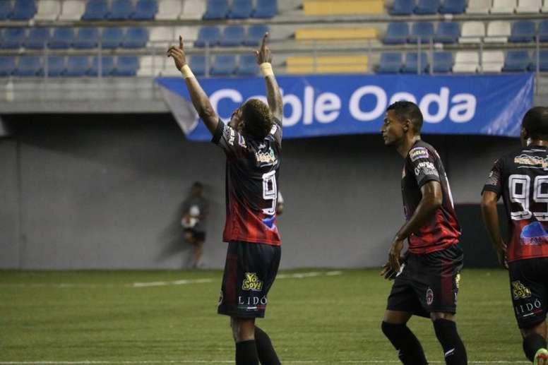 Barsallo marcó el único tanto del encuentro. SportingSM