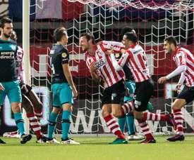 El Sparta elimina al PSV en la Copa de Holanda. EFE