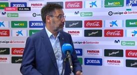 Bartomeu habló sobre el VAR. Captura/MovistarLaLiga