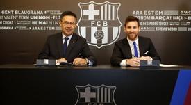 Le Barça prêt à prolonger de nouveau Messi ? FcBarcelona
