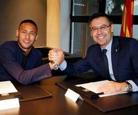 Le Barça ne peut pas recruter Neymar. EFE
