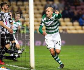 Bas Dost foi o único autor do golo da partida. Facebook/SportingCP
