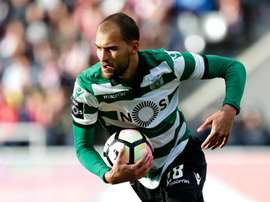 Bas Dost voltou a marcar. Twitter