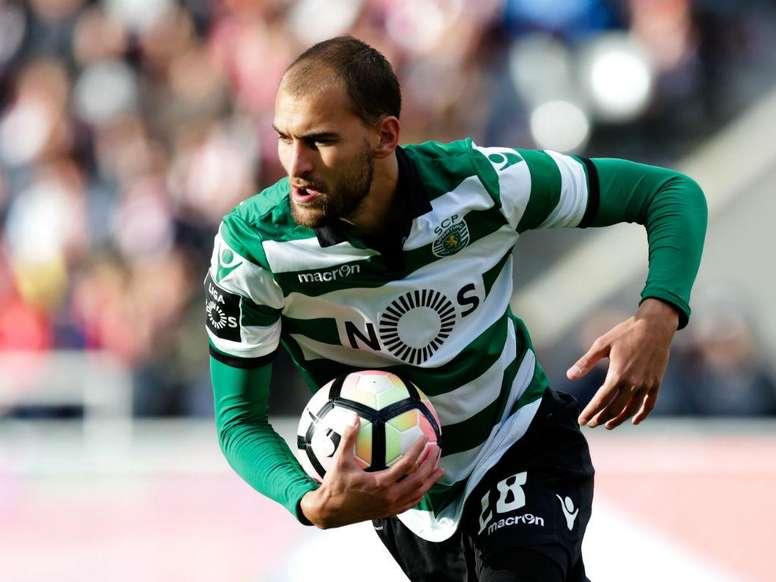 O holandês voltou a ser decisivo, apontando um 'hat trick' no Municipal de Braga. Twitter