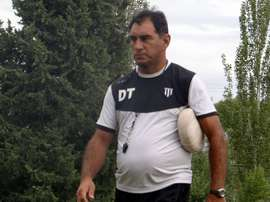 Basso, entrenador de Gimnasia Mendoza. GimnasiaMendoza
