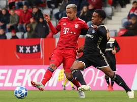 The spoils were shared between Bayern and Ajax. Twitter/FCBJuniorTeam