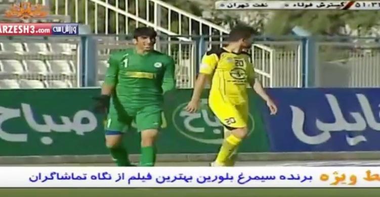 Beiranvand estuvo 11 partidos consecutivos sin encajar con la Selección de Irán. Youtube