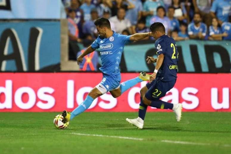 Belgrano y Boca empataron a uno. Twitter/BocaJrsOficial