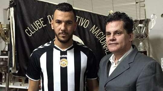 Belkaroui, nuevo jugador del Nacional. Twitter