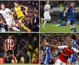 Bellerín, Vardy, Long y Walcott, entre los jugadores más rápidos de la Premier. BeSoccer