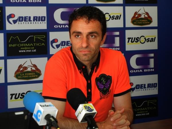 El ex entrenador del Badalona Belmonte ha pasado a ser técnico del CF Santboià. Cfbadalona