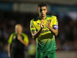 O Tottenham quer Godfrey. Twitter/NorwichCityFC