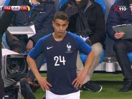 Ben Yedder a fait ses débuts avec la France. Capture
